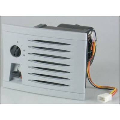 KUBA 530 melegvizes fűtőradiátor 24V fekete