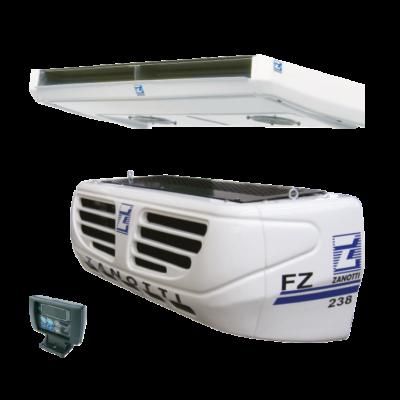 Zanotti SFZ238 közúti/hálózati 230/400V raktérhűtő (R452a)