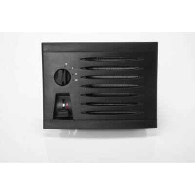 KUBA 350 melegvizes fűtőradiátor 24V fekete